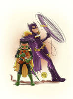 Damian and Steph by mikemaihack