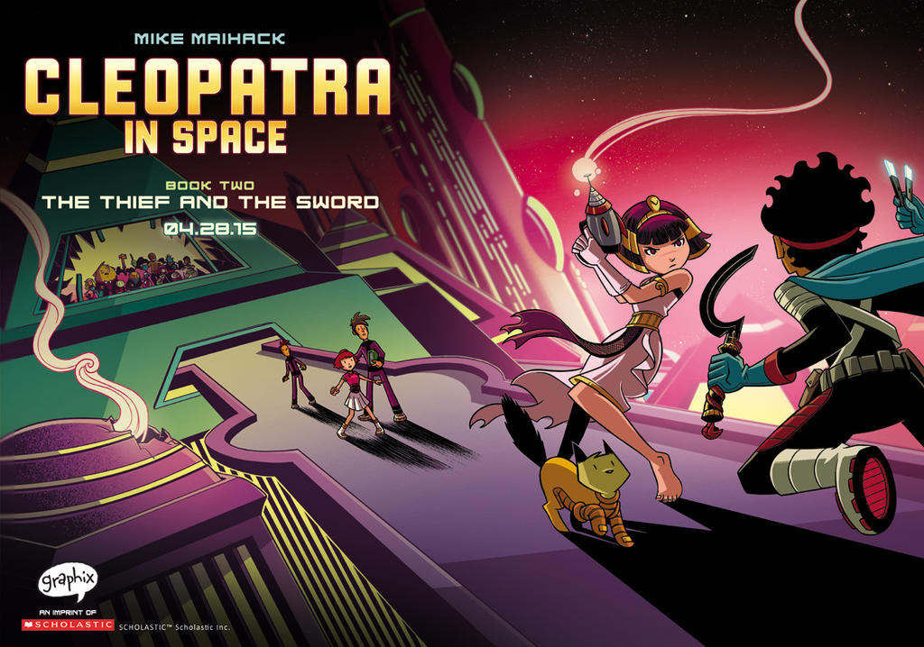 Cleopatra in Space #2: The Thief and the Sword by mikemaihack