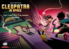 Cleopatra in Space #2: The Thief and the Sword