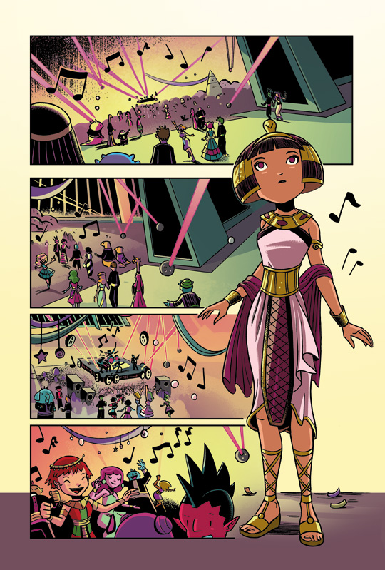 Cleopatra in Space #2 pg 22 by mikemaihack