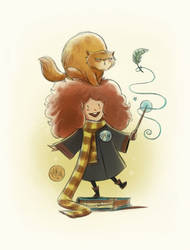 Hermione Granger by mikemaihack