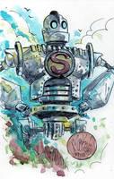Watercolor: Iron Giant