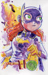 Watercolor: Batgirl