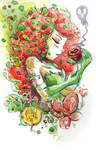 Watercolor: Poison Ivy