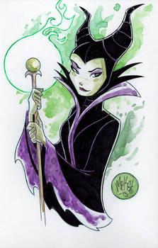 Watercolor: Maleficent