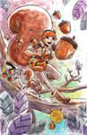 Watercolor: Squirrel Girl