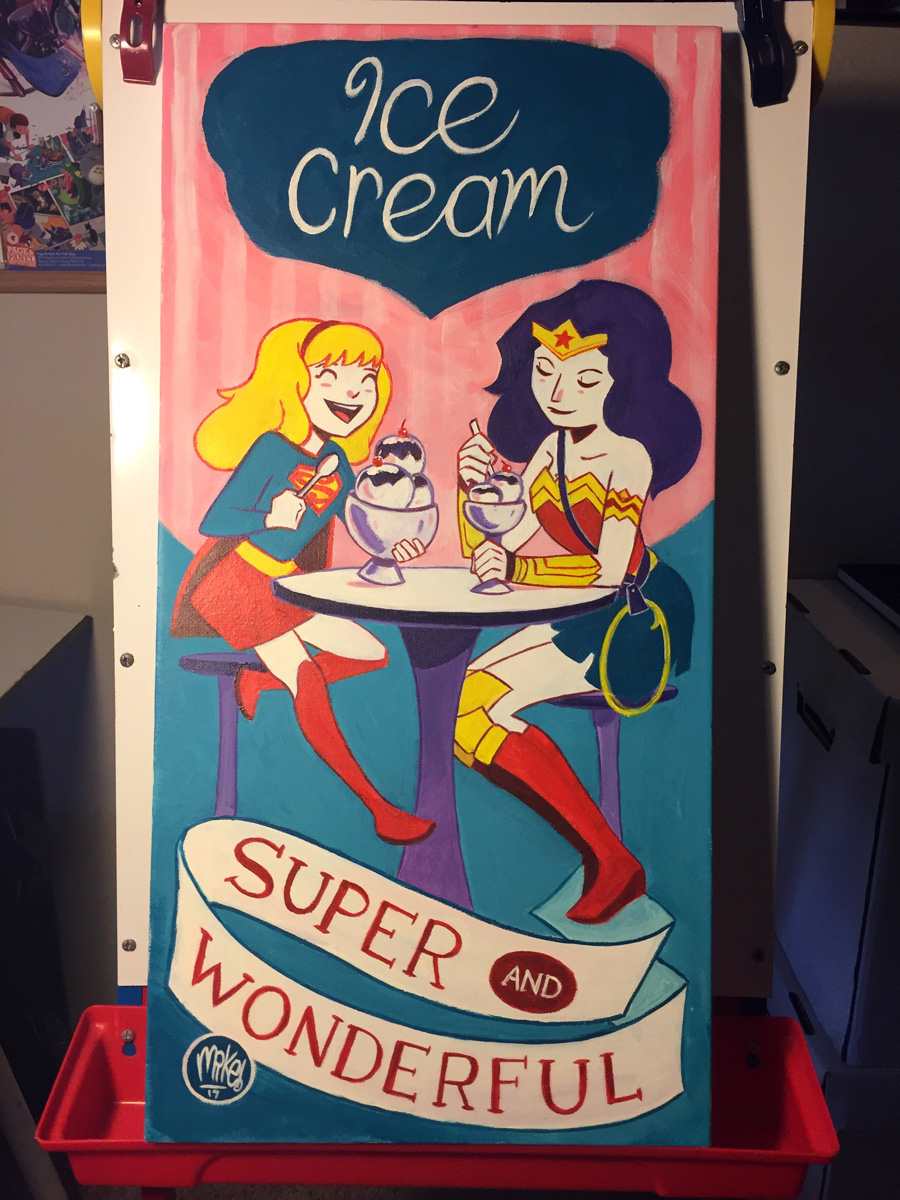 Ice Cream is Super and Wonderful