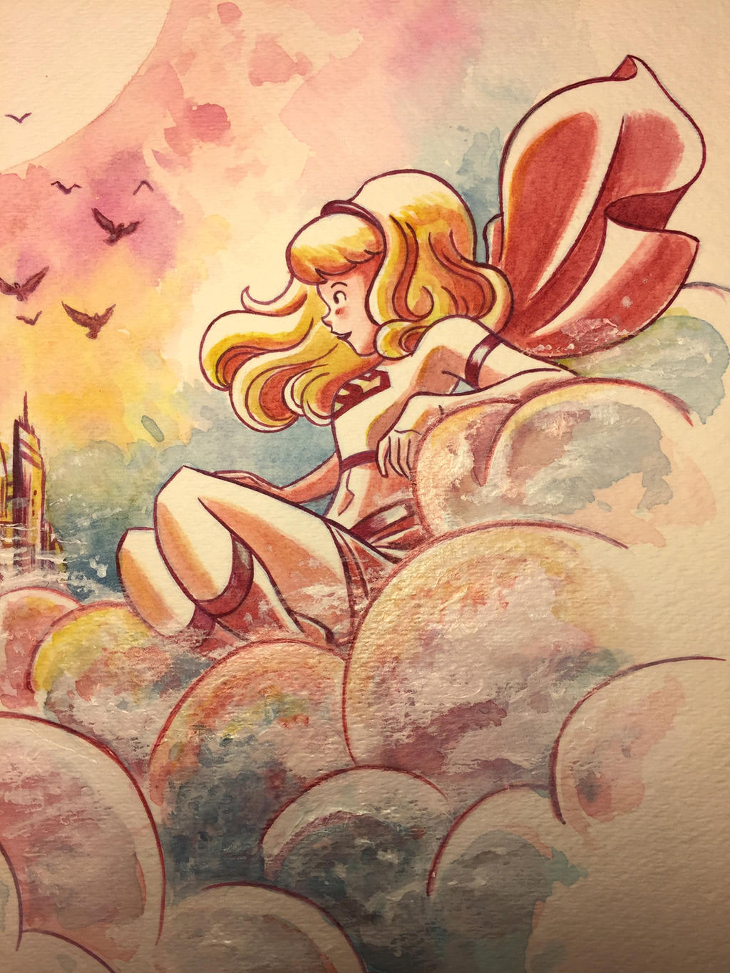 Cloud Chillin' detail by mikemaihack