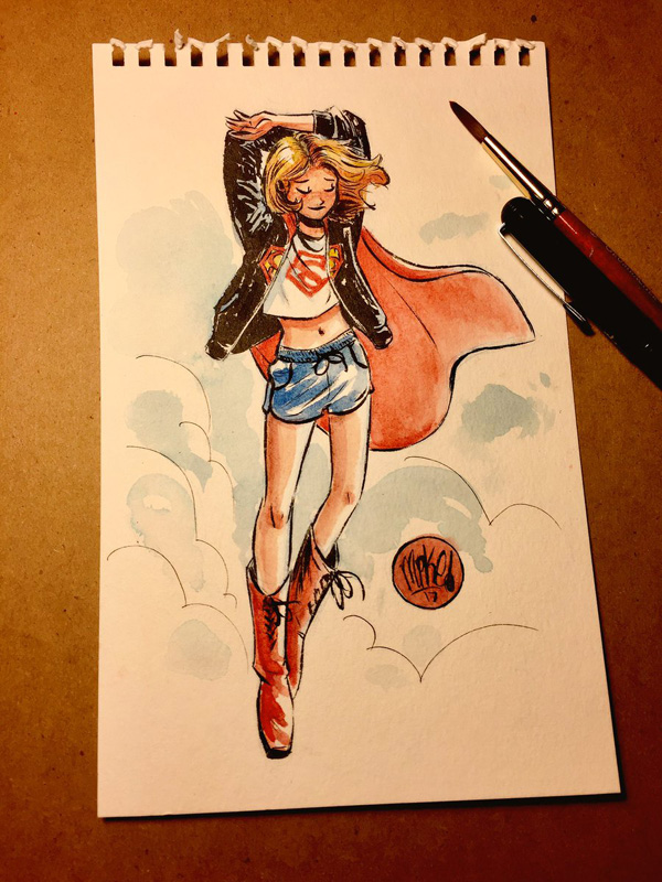 Supergirl (Wada Design) by mikemaihack