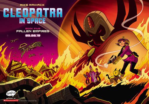 Fallen Empires (Cleopatra in Space 5)