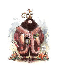 Hagrid and Norbert by mikemaihack