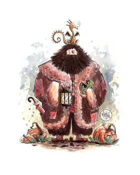 Hagrid and Norbert