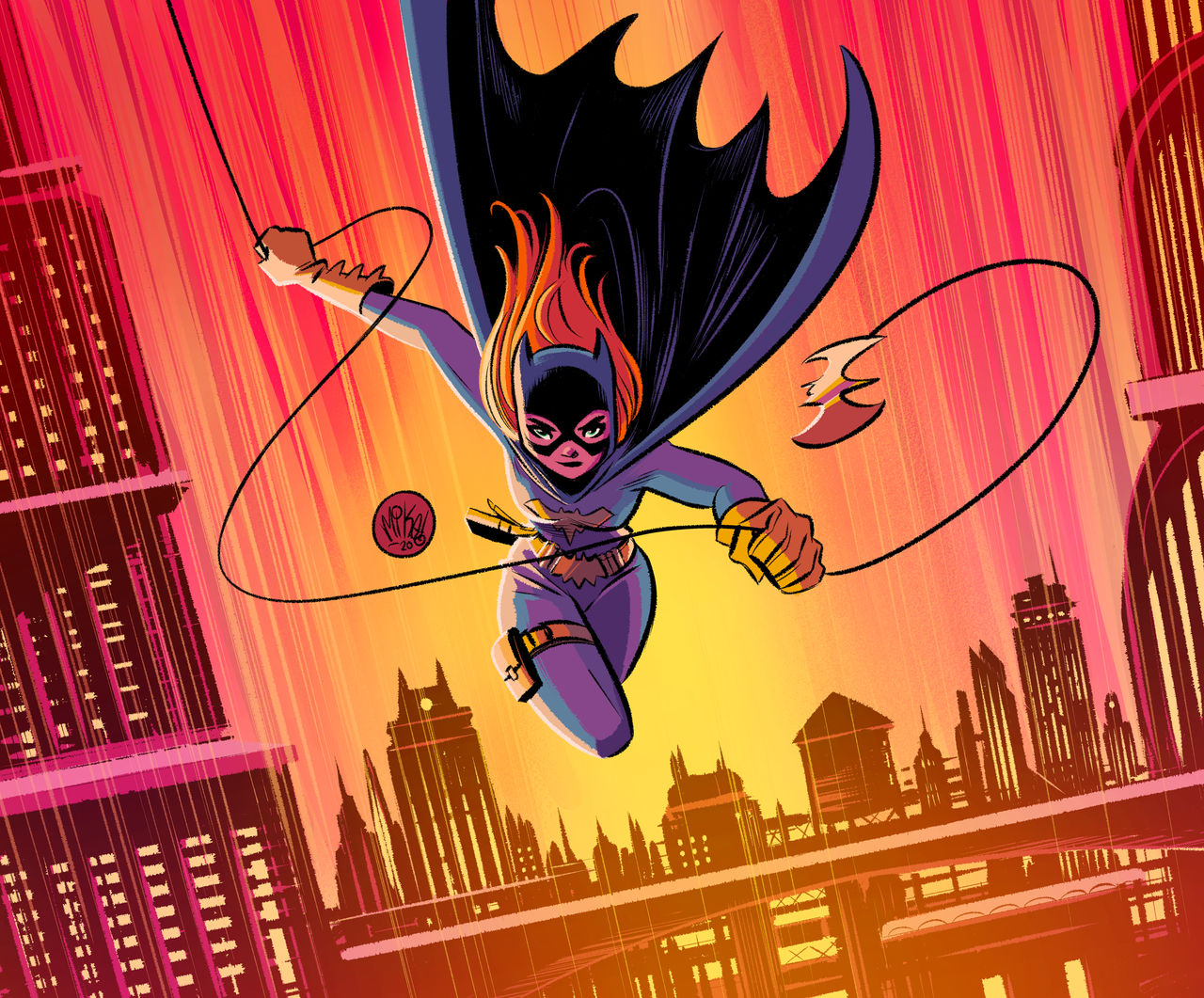 Flight over Gotham