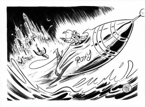 SuperBatober #16 Rocket