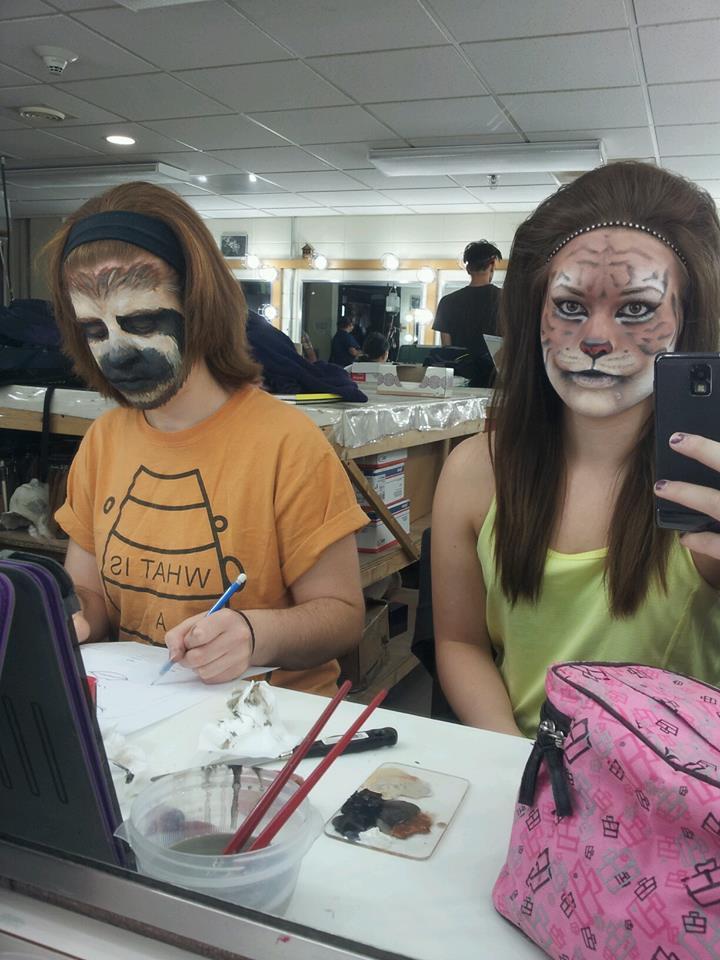 Realistic Anima... Realistic Tiger Makeup