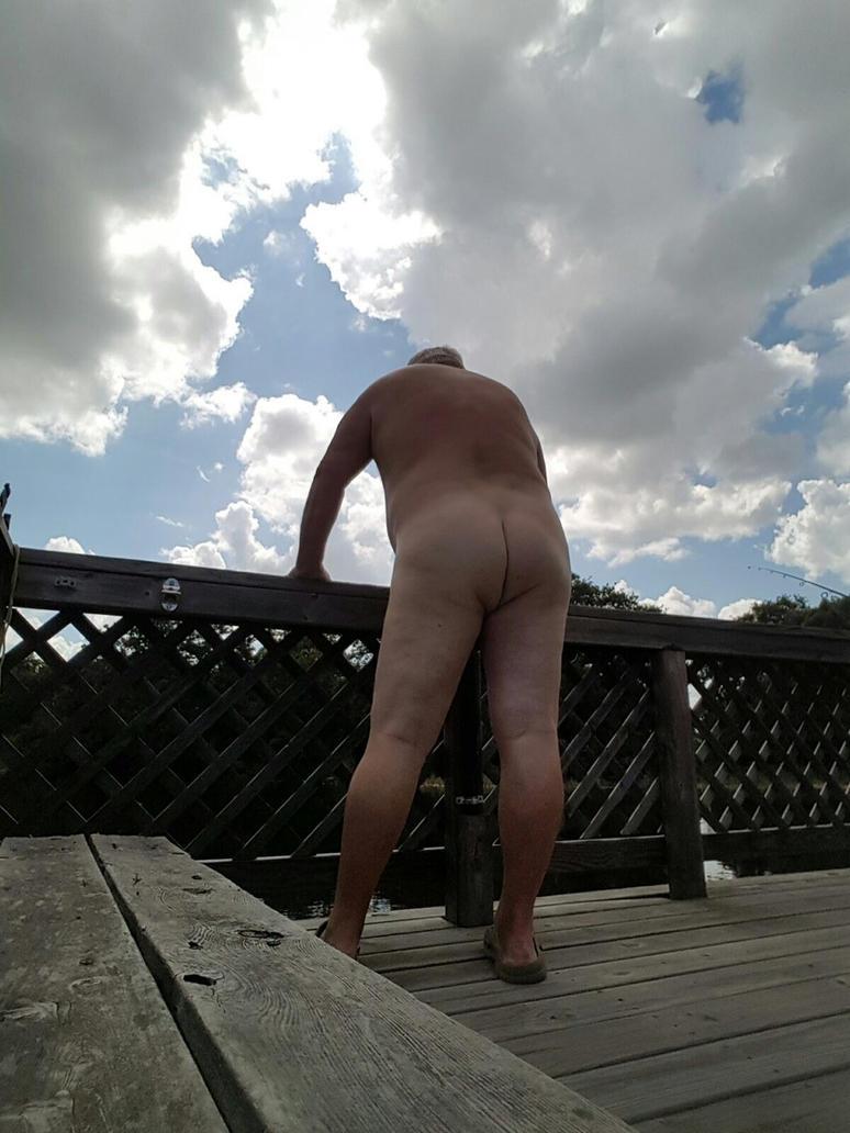 nude fishing by urbuddy