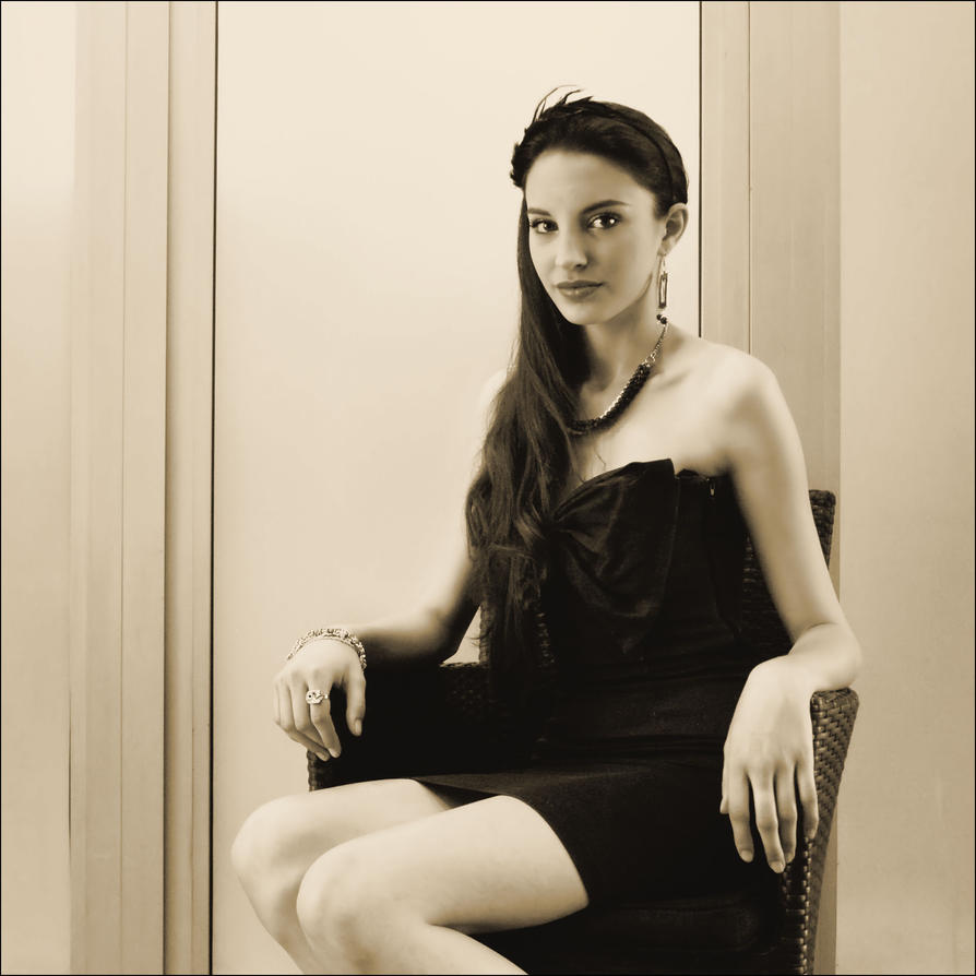 no myseries under the dress by VesnaSvesna
