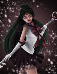 Sailor Pluto by stephie-makes-art