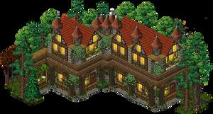 Medieval House Habbo| Build on BobbaHotel