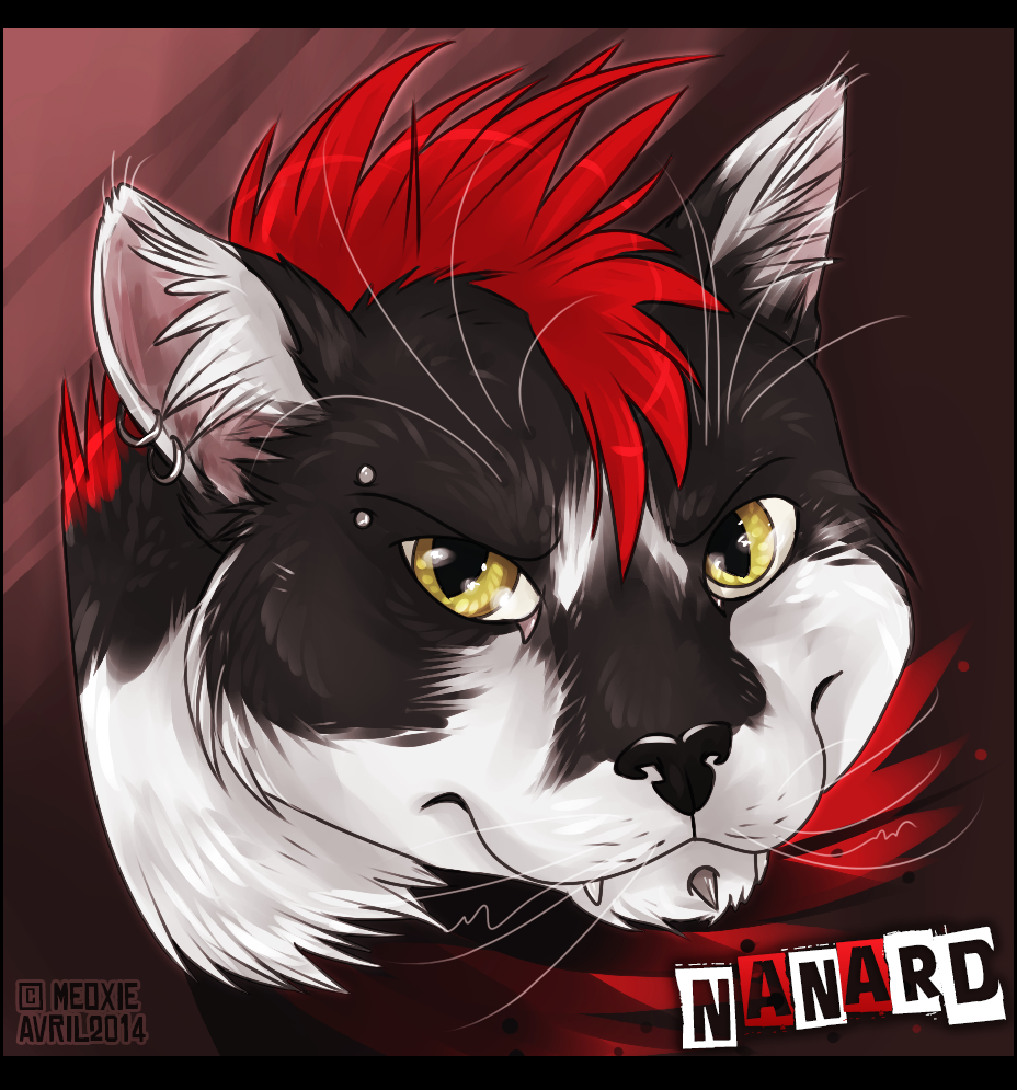 Portrait animalier digital [20€ dont 10€ pour don refuge] ___nanard__commish_refuge__by_meoxie-d7eydwe