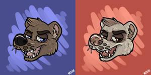 .: MUSTELID [Grumpy Animals]