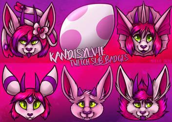 .: KandiSylvie Sub Badges [TWITCH]