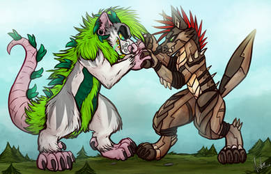 .: Kaiju Fight ! [TWITCH]