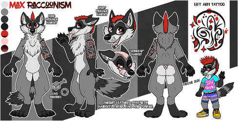 .: Max Raccoonism Reference [COM]