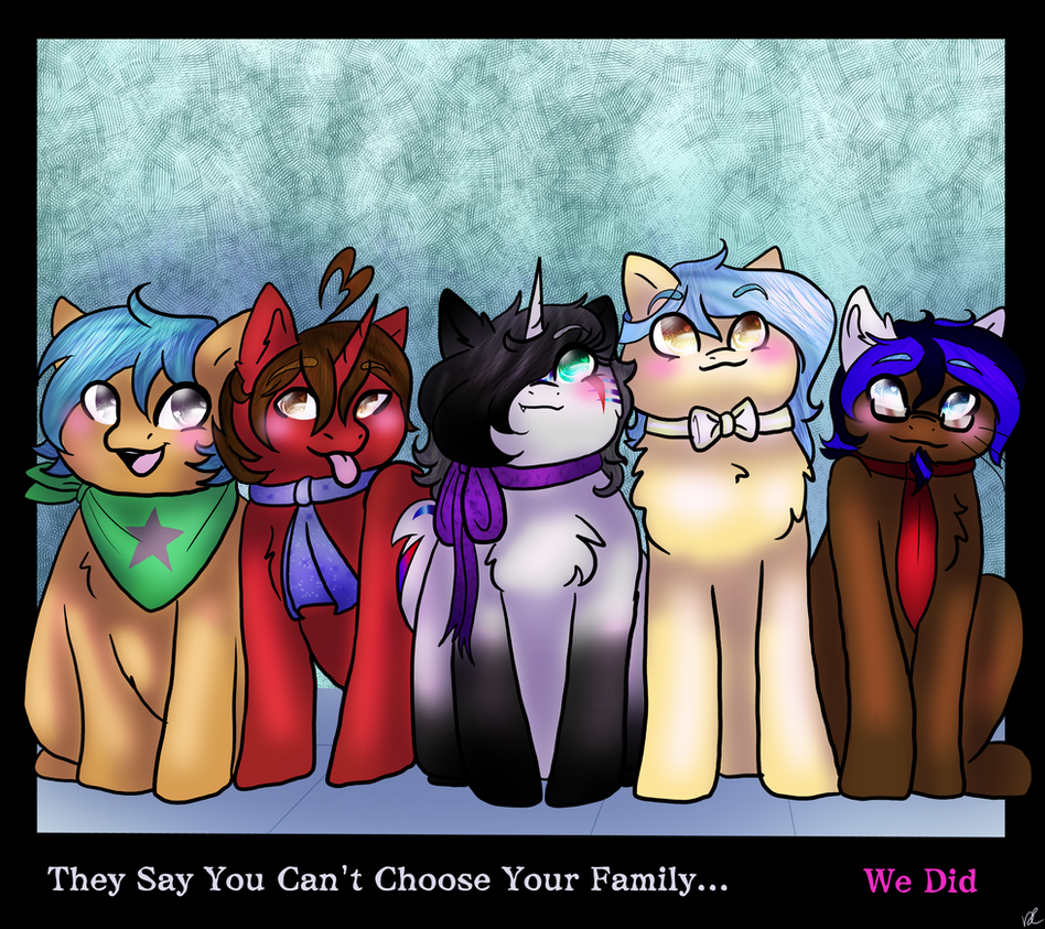 Family choice by sakuwolf666
