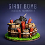 Giant Bomb from Clash of Clans