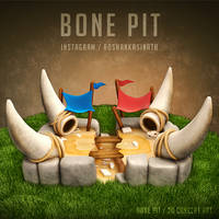 Bone Pit Arena from Clash Royale by roshankasinath