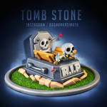 Tomb Stone from Clash Royale