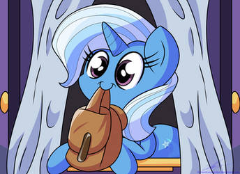 Trixie Is Ready For Adventure! by TheRandomJoyrider