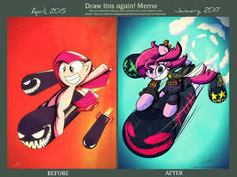 Draw It Again! Meme (Here Comes Pinkie!/The Fun!!)