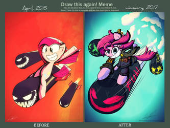 Draw It Again! Meme (Here Comes Pinkie!/The Fun!!) by TheRandomJoyrider