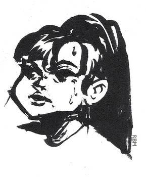 230721 sketch Maki oc