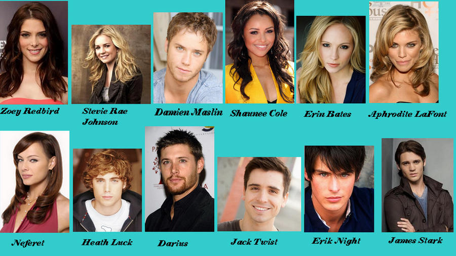 My house of night cast part 1 by lyne chan on deviantart for Housse of night