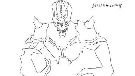 Doom Eternal Archvile by RussianRetard1488