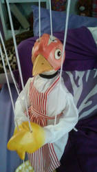 I bought a marionette!