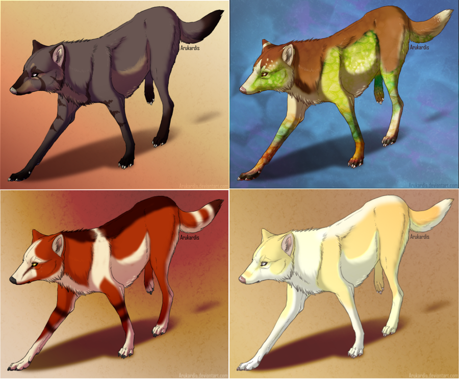Wolf Adoptables by SofielRuesDeLartiste