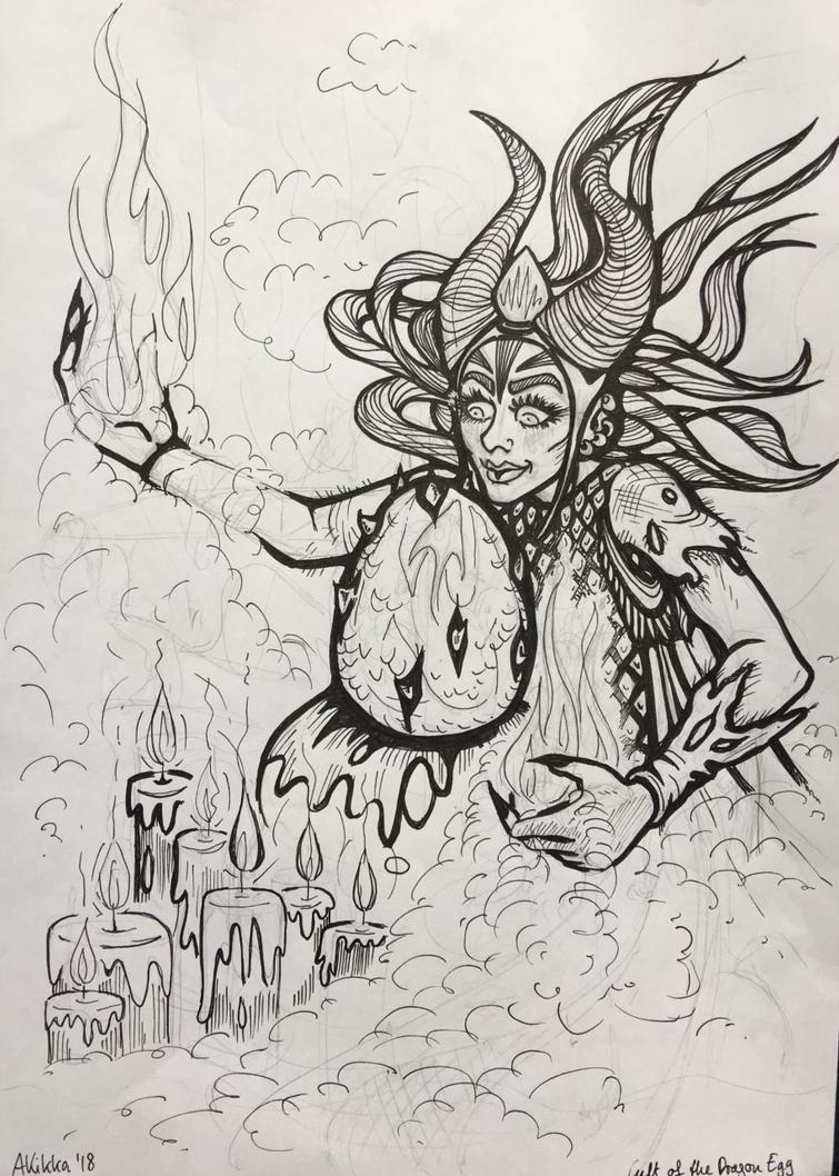 Cult of the Dragon Egg by AKikkaKikka