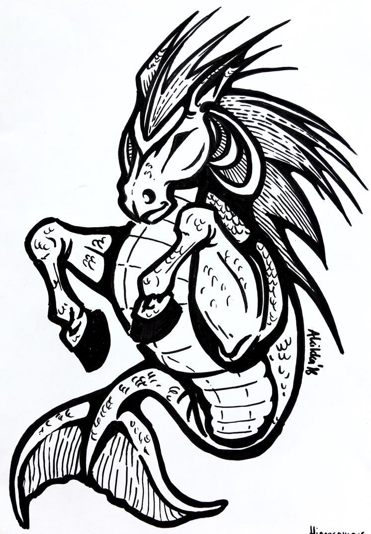 Hippocampus1 by AKikkaKikka