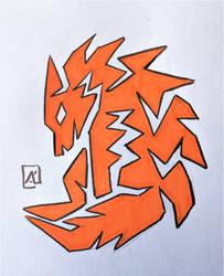 Wolf by AKikkaKikka