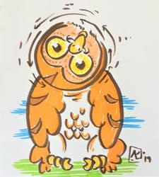 5' - Owl by AKikkaKikka