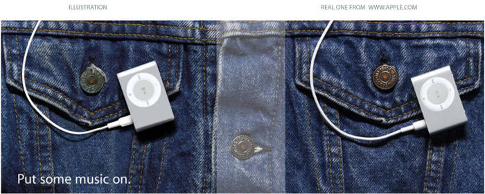 Illustration of Ipod Shuffle