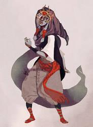 Zelda - Vaati concept by hadece
