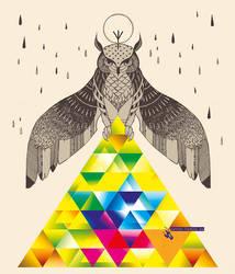 Holy Owl Shirt Design