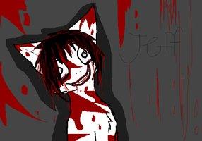 Jeff cat by JennTheKiiller