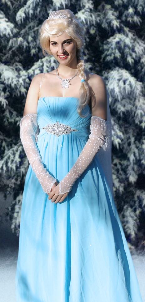 Queen Elsa by woot859