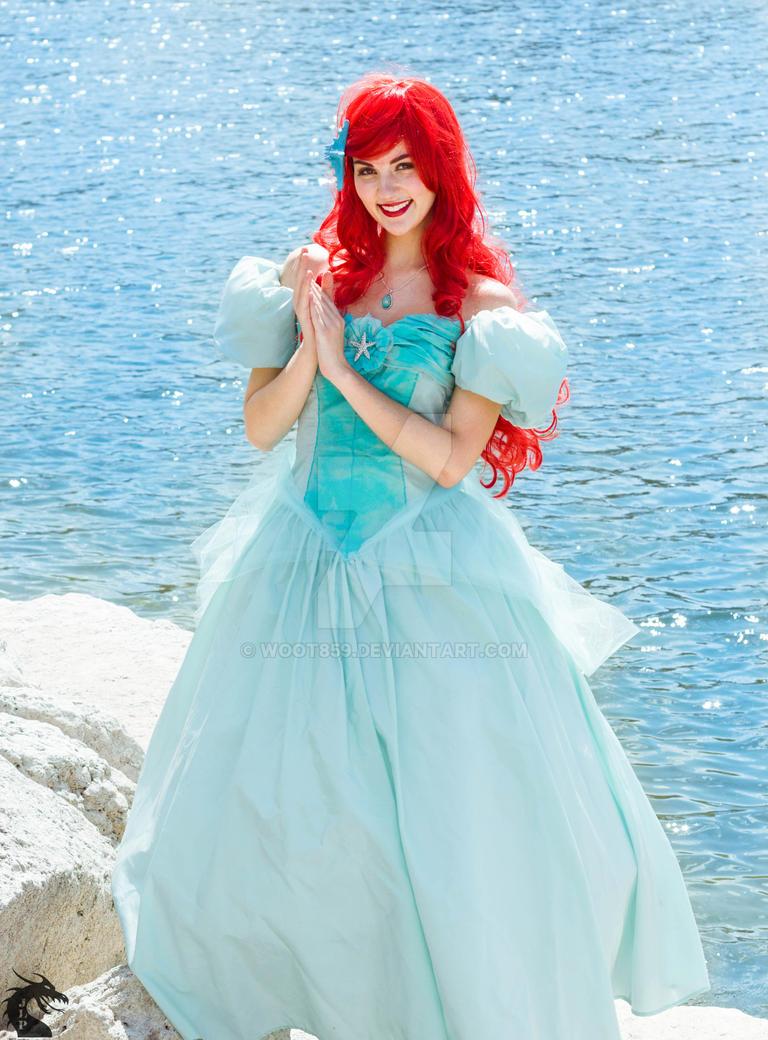 Sweet as a Princess (Ariel Blue Ballgown) by woot859 on DeviantArt